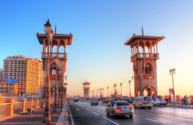 Pacote para o Cairo e Alexandria