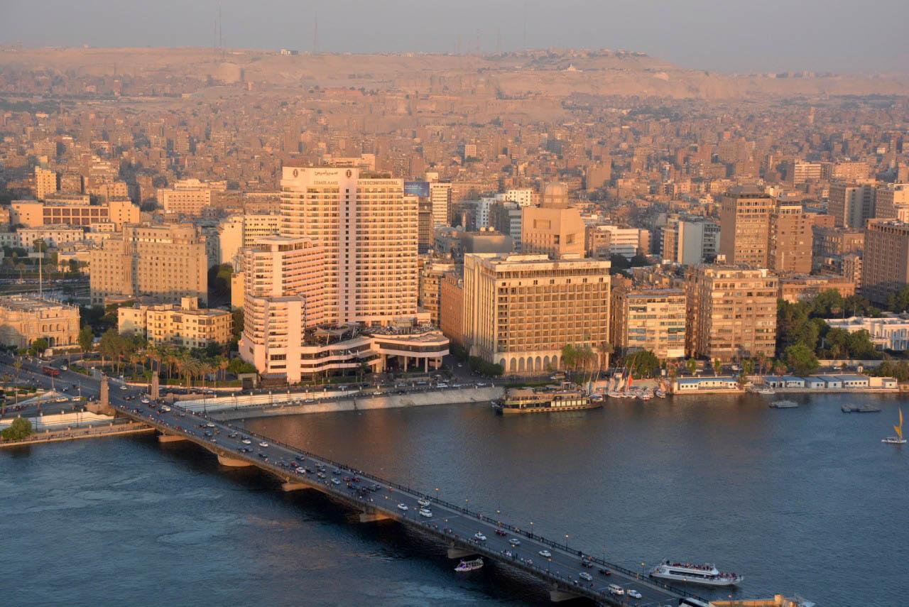 Cairo , a grande metrópole do Egito